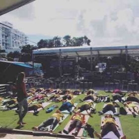 Yoga in schools, yoga for kids, yoga and art field trip