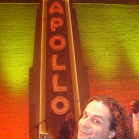 Right after performing at the world famous APOLLO theater
