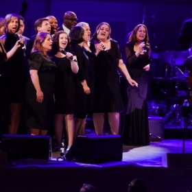 Performing with James Taylor at Carnegie Hall in Spring 2010
