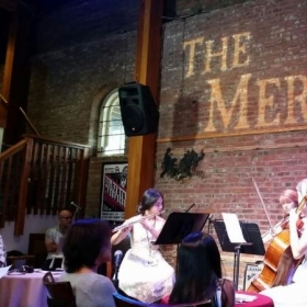 Still Point Quartet performance for the Jacobs Foundation charity event at The Merc in Temecula, California