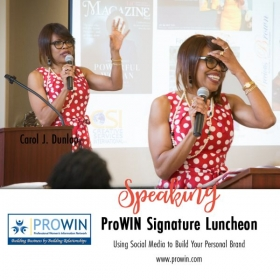 Speaking to ProWIN about building your personal branding using social media.