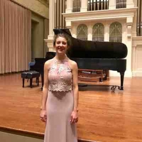 Masters Recital April 2018 at the Peabody Institute, pianist Min Young Park