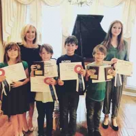 National Guild Auditions May 2018  all of my students received Top-Talent Circle Winner