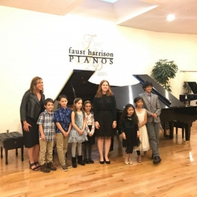 Spring 2018 Student Recital at Faust Harrison Pianos