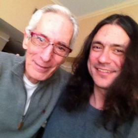After a lesson/jam with legendary Jazz guitar master Pat Martino!