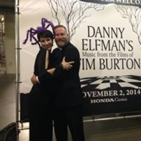 Proud to have performed with Danny Elfman's Nightmare before Christmas for several years.