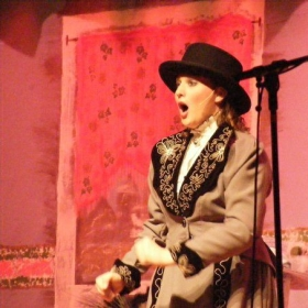 """Performing as Dolly in, """"Hello Dolly"""""""