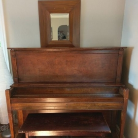 1911 Marshall and Wendall Full Upright piano