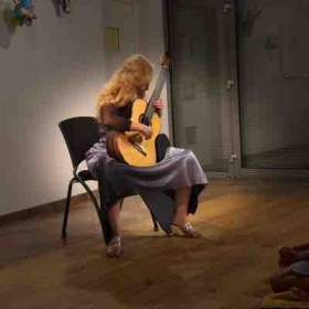 France playing for the French Guitar Society June 2018
