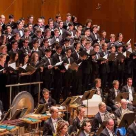 Giovanni X featured in the MSM Symphonic Choir with the New York Philharmonic