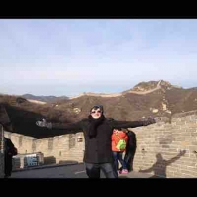At the Great Wall of China, Beijing 2013