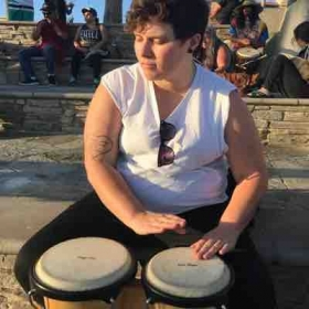 Drum Circle @ Huntington Beach
