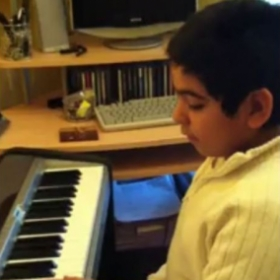 Student Playing Stand By Me by Ben E King