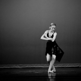 Contemporary dance snapshot