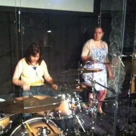 @ NoLimits Church in Owasso, Ok. with my daughter, who is also a drummer and percussionist - serving as percussionist on this occasion.