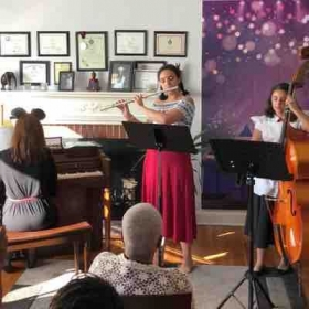 My students Flute Recital - Disney Theme June 30, 2018 - Lutherville, MD