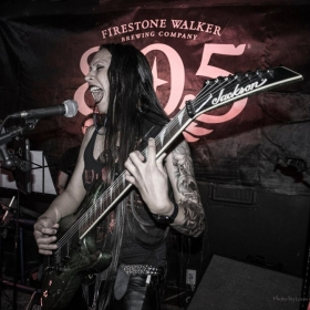 Performing at the Tavern in Ventura, CA as Mage.