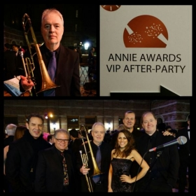 My Jazz group has performed for the HOLLYWOOD ANNIE AWARDS VIP party for he last six years in Los Angeles , Ca.