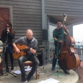 Live Performance with Seaweed Vipers on Upright Bass.