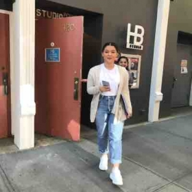So proud of my student coming out of HB in NYC