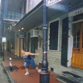 Dancing on Bourbon Street NOLA