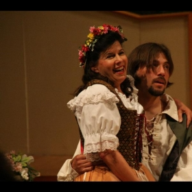 "As ""Zerlina"" in Don Giovanni."