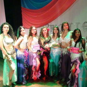 My students getting their dance title in my event