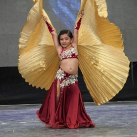 My student competing in All Dance World
