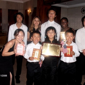My students won awards at music festival