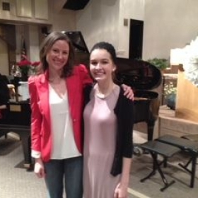 So proud of this lovely student who was invited to participate in the DEMTA Honors Recital!