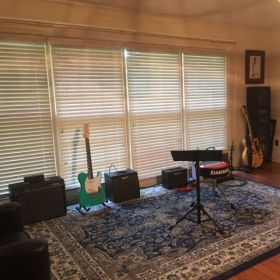 We also offer solo recording sessions to our students so they can share their music.