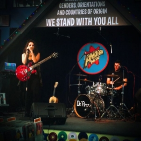 Performing at World Famous Amoeba Records