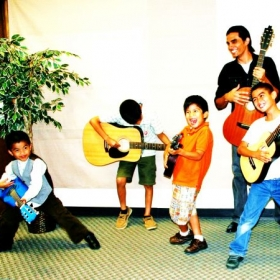 Six guitar students performed in Recital 2012!! Great job guys!! It was fun!!