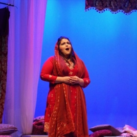 As Konstanze in Mozart's The Abduction from the Seraglio, Bronx Opera