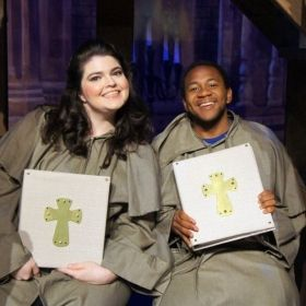 Choir in Menken/Schwartz' The Hunchback of Notre Dame, Light Opera of New Jersey