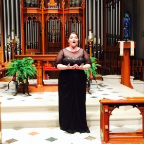 In recital at St. Mark's Episcopal Church