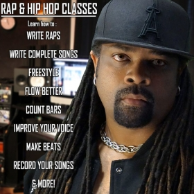 Wanna learn Rap & Hip Hop? Learn from a Professional recording artist.