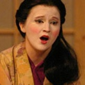 Here I am, singing the role of Ifigenia in Handel's opera Oreste.