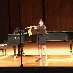 Counselor recital at The Ohio State University Flute camp
