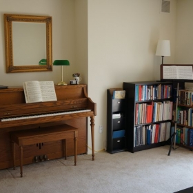 This is my teaching studio in Lawrenceville, NJ.