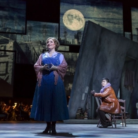 As Mimi in La Boheme with the National Symphony Orchestra