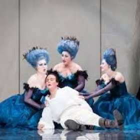 As First Lady in The Magic Flute with Houston Grand Opera
