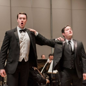 Singing the Duet from Bellini's I puritani