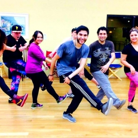 This was one of my first classes!! My face tells it all. :D