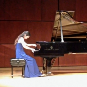 My junior recital, April 2017.