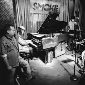 Performing at Smoke in New York City.