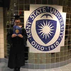 When I graduated with my master's degree