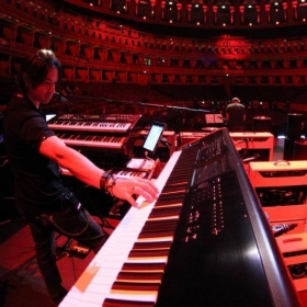 Soundcheck at Royal Albert Hall with The Who
