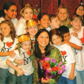 """Cast of our Theatre Creators Kids production from our North Hollywood days, """"Broadway Bound Kids."""""""