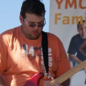 This was one of the more fun shows I've ever performed.  This was part of a YMCA sponsored Family Day event!